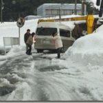 豊岡市の家~現場は大雪で大変!
