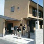 芦田成人建築設計事務所の完成見学会を見学。