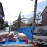 姫路市飾磨区の二世帯住宅「祝!上棟」